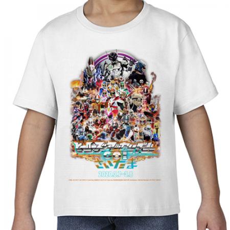 ヒーローズアッセンブルオリジナルTシャツ 白キッズ