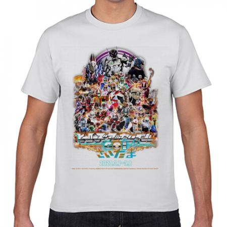 ヒーローズアッセンブルオリジナルTシャツ 白